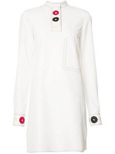 платье с вышитыми деталями Derek Lam