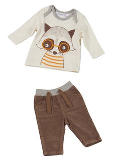 Комплект: брюки + футболка Babaluno