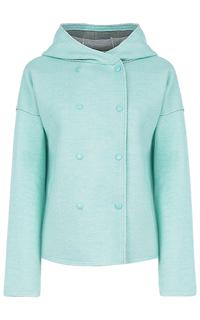 Мятное пальто с капюшоном La Reine Blanche