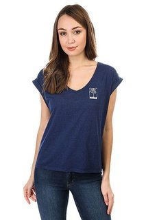 Топ женский Roxy Guerrerorxybran Blue Depths Heather