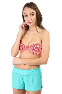 Бюстгальтер женский Billabong Sea Side T Bandeau Sunset Red