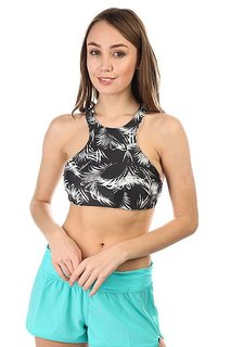 Бюстгальтер женский Billabong Isla. Time High Neck Black Sands