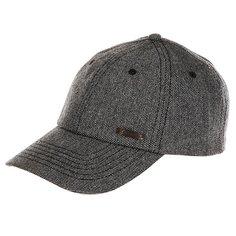 Бейсболка классическая Caterpillar Tweed Cap Pitch Black/Noir