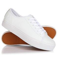 Кеды кроссовки низкие женские Fred Perry Phoenix Flatform Leather White