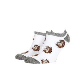 Носки низкие Запорожец Короткие Белые