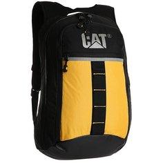 Рюкзак городской Caterpillar Glass Black/Yellow