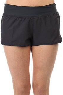 Шорты пляжные женские Billabong Sol Searcher Volley Black Sands