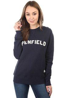 Толстовка свитшот женская Penfield Brookport Navy