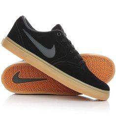 Кеды кроссовки низкие Nike Sb Check Solar Black