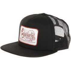 Бейсболка с сеткой Billabong Support Trucker Black