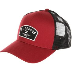 Бейсболка с сеткой Billabong Wharf Trucker Red Clay