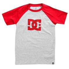 Футболка детская DC Star Ss Raglan Chili Pepper/Grey He