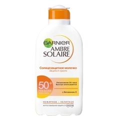GARNIER Солнцезащитное молочко для тела Ambre Solaire Защита от сухости SPF 50+ 200 мл