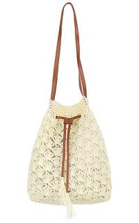 Соломенная сумка-мешок Maxval