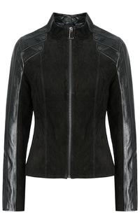 Куртка из натуральной кожи и замши La Reine Blanche