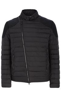 мужская текстильная куртка на синтепоне Clasna