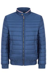 Утепленная куртка с отделкой трикотажем Jorg Weber