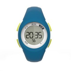 Часы С Таймером Для Занятий Спортом W200 S Жен./дет. - Голубые И Зелёные Geonaute