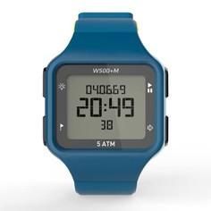 Часы Спортивные С Таймером W500+ M Муж. - Голубые Зелёные Geonaute