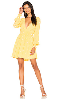 Платье с длинным рукавом chiquita - For Love & Lemons