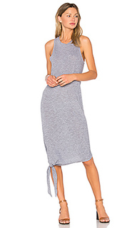 Asymmetrical tie dress - Lanston