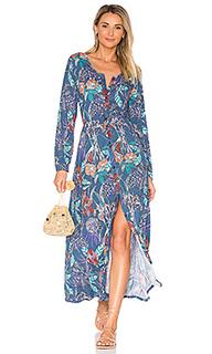 Макси платье odyssey - Aila Blue
