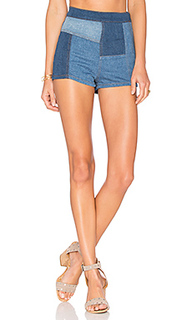 Patched high and tight short - Free People