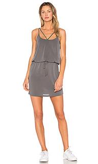Платье с перекрестными шлейками - Lanston