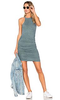 Ruched halter dress - Lanston