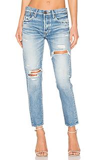 Состаренные облегающие джинсы bowie - Moussy