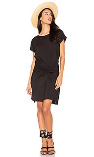 Платье с завязкой спереди - YORK street