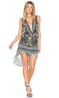 Платье с перекрестными шлейками - Camilla