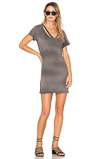 Платье-рубашка double fallon - LNA