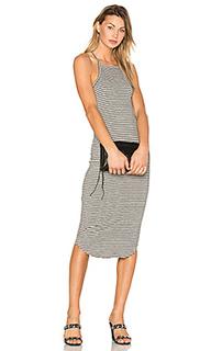 Square bib dress - LNA