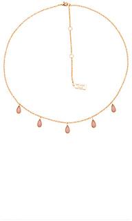 Stone drop necklace - Melanie Auld