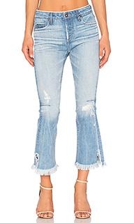 Укороченные расклёшенные джинсы bellatula - TORTOISE