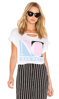 Футболка no bad days - Wildfox Couture
