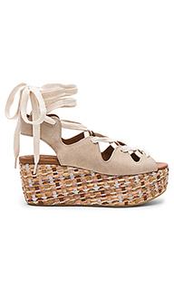 Lace up platform sandal - See By Chloe