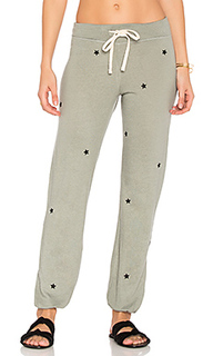Star patches sweatpant - SUNDRY
