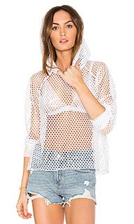 Wings mesh hoodie - LNA