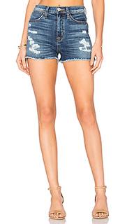 Обрезанные шорты высокой посадки soko - Hudson Jeans