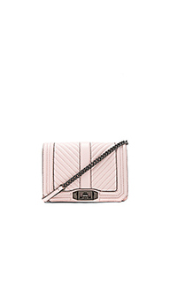 Chevron quilted small love crossbody bag - Rebecca Minkoff