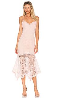 Платье из кружева-кроше guipure - NICHOLAS