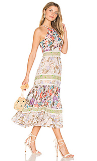 Print mix dress - Rebecca Taylor