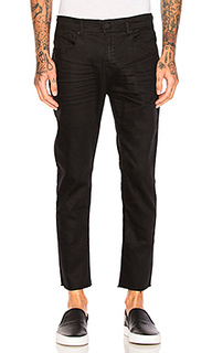 Resin slim fit cropped jeans - Stampd