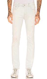 Состаренные облегающие джинсы - Stampd