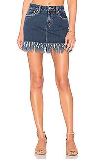 Мини юбка с пятью карманами aubrey - Tularosa