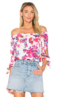 Блуза с открытыми плечами sienna - devlin