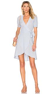X revolve the hi-low wrap dress - LAcademie