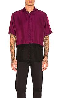 Two toned taped shirt - Robert Geller